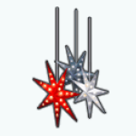 NordicNoelSpin - Hanging Holiday Stars