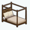 CafeRaffle - Tribal Canopy Bed