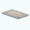 SilverEleganceDecor - Silver Scroll Rug