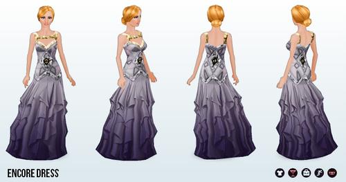 DanceLessons - Encore Dress
