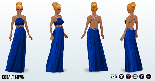 CounterfeitingDoesntPay - Cobalt Gown