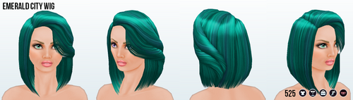 StPatricksDay - Emerald City Wig