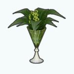 CelebrateGreenerySpreeSpin - Green Botanicals Vase