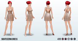 HoneymoonSpreeSpin - Sightseeing Dress