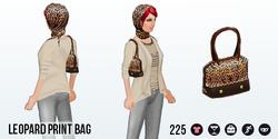 LeapDay - Leopard Print Bag