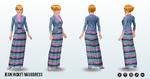 BlogAThon - Jean Jacket Maxi Dress