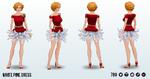 ACoffeeShopCarol - White Pine Dress