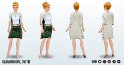 GlamourGirlSpin - Glamour Girl Outfit