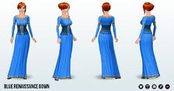 RenFaire - Blue Renaissance Gown