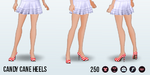 SweaterParty - Candy Cane Heels