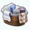 JuniperAndSpruceDecor - Basket of Blankets