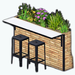TheVault - Planter Bar
