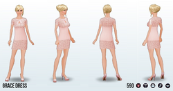 PowderedPink - Grace Dress