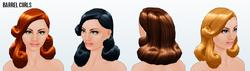 StyleThief - Barrel Curls