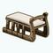 CozyChaletDecor - Sled Bench