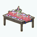 FourthOfJuly - Patriotic Picnic Table