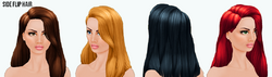 FirstDate - Side Flip Hair