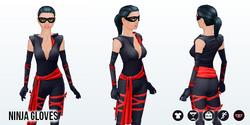 HalloweenHaunt - Ninja Gloves