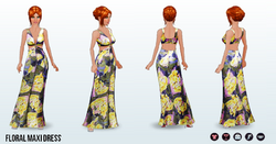 SpringIsComing - Floral Maxi Dress