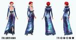 EvilQueenSpin - Evil Queen Gown