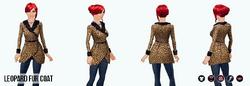 FemmeFatale - Leopard Fur Coat