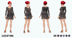 BoldBohemian - Laced Up Tunic