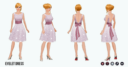 PinkAndPretty - Eyelet Dress