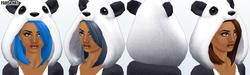 SpookyCafe - Panda Hat