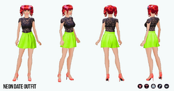 Neon - Neon Date Outfit