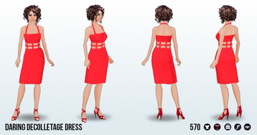 DareDay - Daring Decolletage Dress