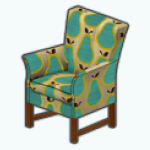TuttiFruttiSpin - Pear Pie Chair