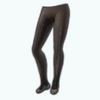 ChillyEssentialsSpin - Gray Cable Knit Tights