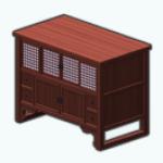 CafeRaffle - Cherry Media Cabinet
