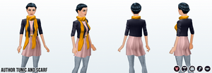 Career - Author Tunic and Scarf