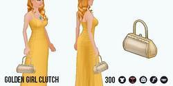 HollywoodGlamour - Golden Girl Clutch