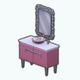 PinkDay - Pink Mosaic Sink