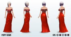 PoppyAndAsterSpin - Poppy Gown
