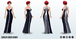 PrivateReserve - Screen Siren Gown