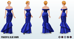 PresidentsDay - Powerful Blue Gown