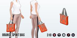 SportsAndLeisure - Orange Sport Bag