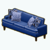 NewEnglandDecor - New England Piped Sofa