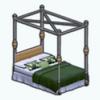 EmeraldAndLilySpin - Emerald Velvet Bed