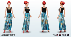 OlympianOpulenceSpin - Aphrodite Outfit