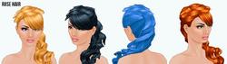 MermaidClothing - Rose Hair