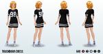 TheBigGame - Touchdown Dress