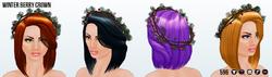 JingleBellsClothing - Winter Berry Crown