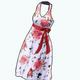 Easter2014 - Floral Halter Dress