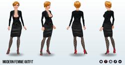 FemmeFatale - Modern Femme Outfit
