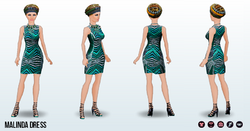 SpringFestival - Malinda Dress