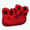 PoppyAndAsterSpin - Poppy Clutch